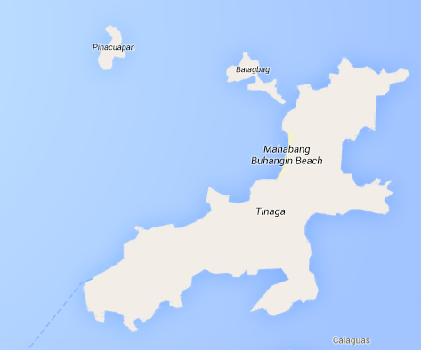 Calaguas Map